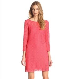 Lilly Pulitzer, scoop back dress, coral. Med, NWT